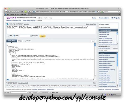yql tutorial javascript how to build an rss reader with jquery mobile