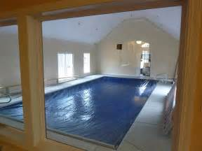 interesting small indoor pool design