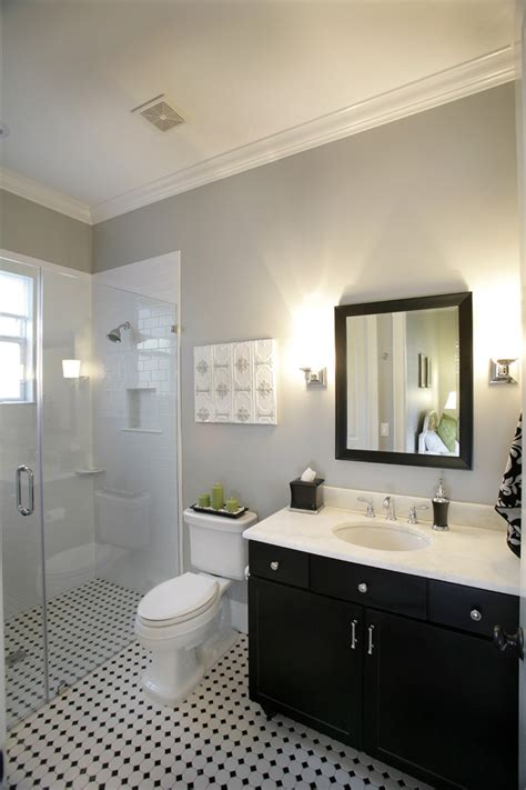 Free In Bathroom by Barrier Free Shower Bathroom With Black And