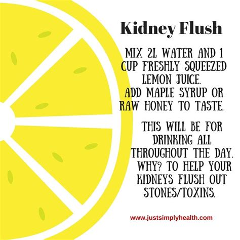 Best Way To Detox Your Kidneys by Best Way To Get Rid Of Kidney Flush Jsh Has This To Say