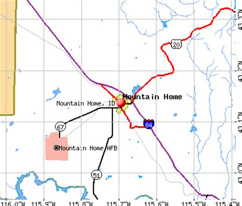 mountain home idaho id 83647 profile population maps