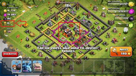 flame wall coc mod game clash of clans how are the total possible trophies