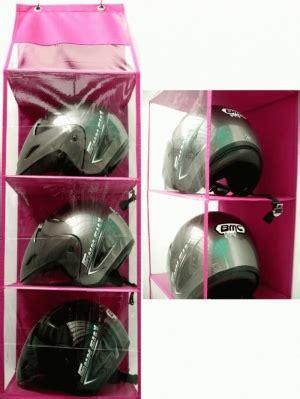 Hanging Helmet Organizer Polos Rak Helm Gantung 1 hanging helm organizer rak helm gantung murah dewi s