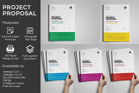design proposal software web design proposal stationery templates on creative market