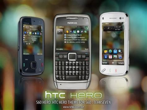 nokia e72 all themes s60 hero theme for nokia e72