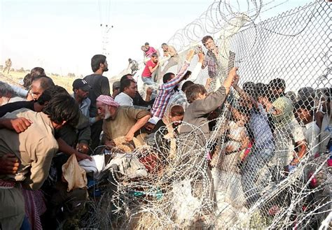 imagenes impactantes en siria impactantes im 225 genes miles de sirios entran en turqu 237 a