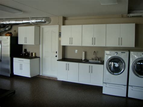 Laundry Room In Garage Decorating Ideas Garage Closets Cabinets Traditional Laundry Room Orange County By Cabinets Plus