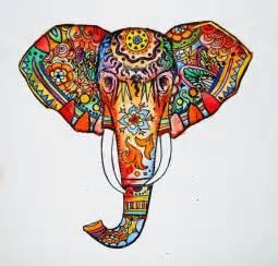 elephant print by kristinasheufelt society6