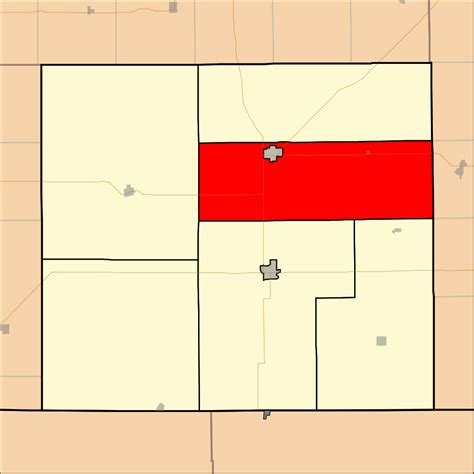 Number Search Kansas File Map Highlighting Township Number 5 County