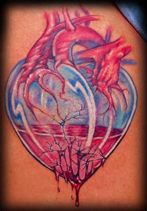 heart tattoo on butt on