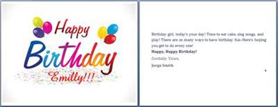 word birthday card template ms word happy birthday cards