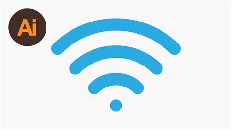 tutorial logo wifi learn how to draw a wireless signal icon in adobe