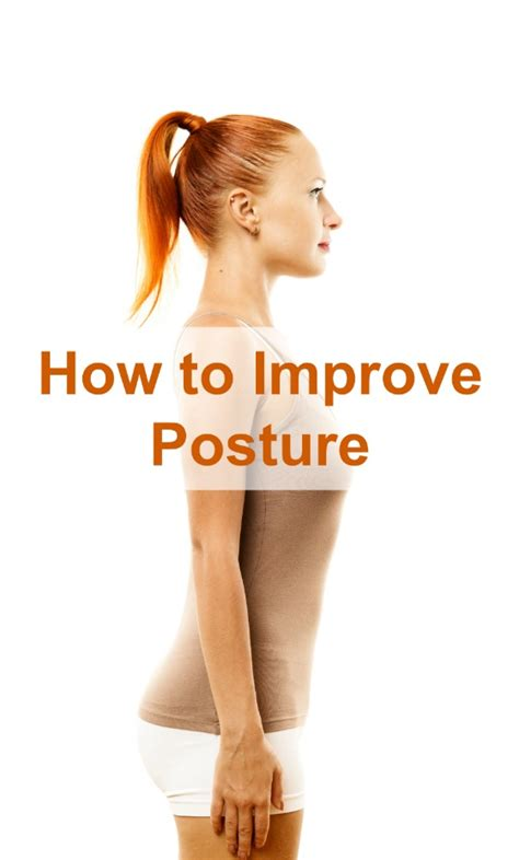 how to a better posture how to improve posture selfcarer
