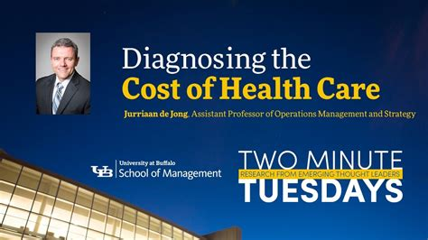 Of Buffalo Mba Cost by Diagnosing The Cost Of Health Care Two Minute Tuesdays