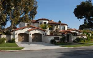 Spanish Colonial Homes Spanish Colonial Style Homes Mediterranean Exterior