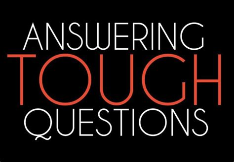the process for answering tough questions about christianity shirkman