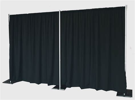 pipe and drapes destination events pipe and drape 8 tall destination