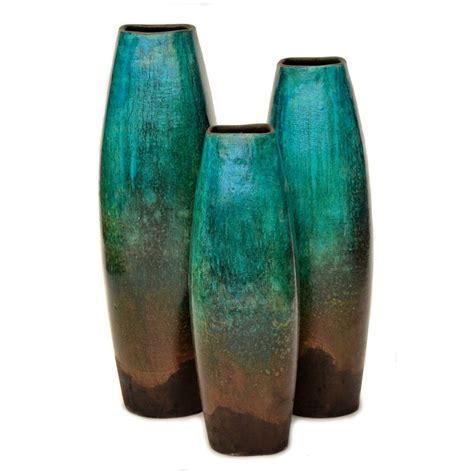 Casilla Turquoise Vases   Set of 3