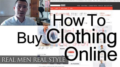 shopping guide where to buy how to buy clothing online man s guide to internet