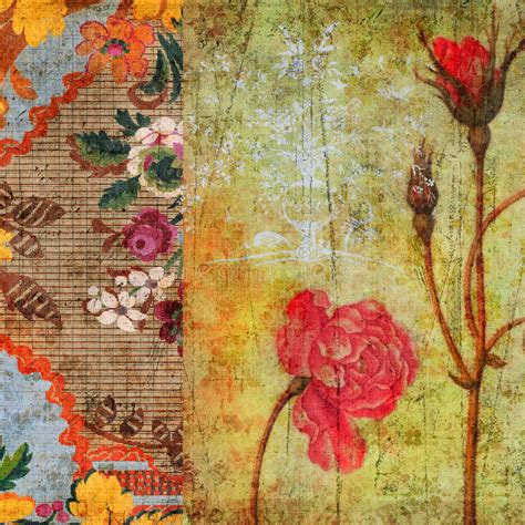 grunge floral background stock image image of history 1641989 vintage floral grunge scrapbook background stock image image of earthy flowers 14003031