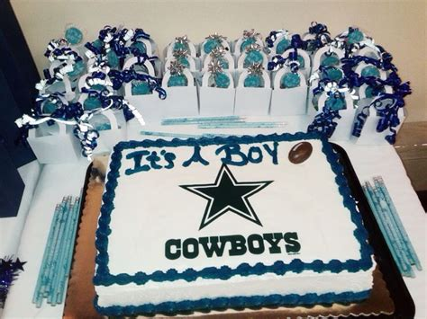 Dallas Cowboys Baby Shower Cake by 42 Best Dallas Cowboys Football Baby Shower Images On