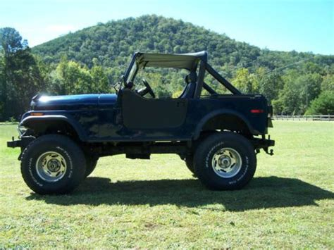 Piedmont Jeep Sell New 1980 Jeep Cj7 New 304 V8 Automatic 4 Inch Lift