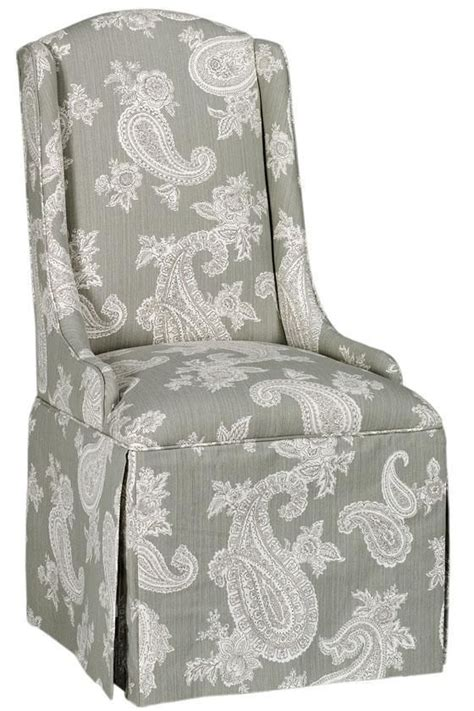 Skirted Parsons Dining Chairs Skirted Parsons Chair Chairs