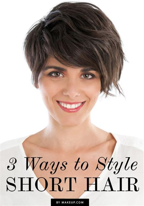 different ways to get your hair cut 3 ways to style short hair weddbook