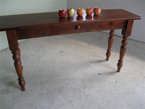custom made oak tables custom made oak sofa table by ecustomfinishes reclaimed
