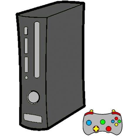 console gioco disegno di console giochi a colori per bambini