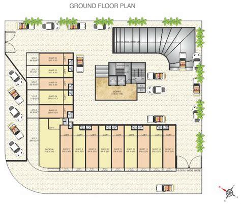 1 E 8th Ground Floor - floor plan devratna taloja navi mumbai devkrupa