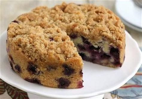 Blueberry Crumb Cake   Easy Dessert