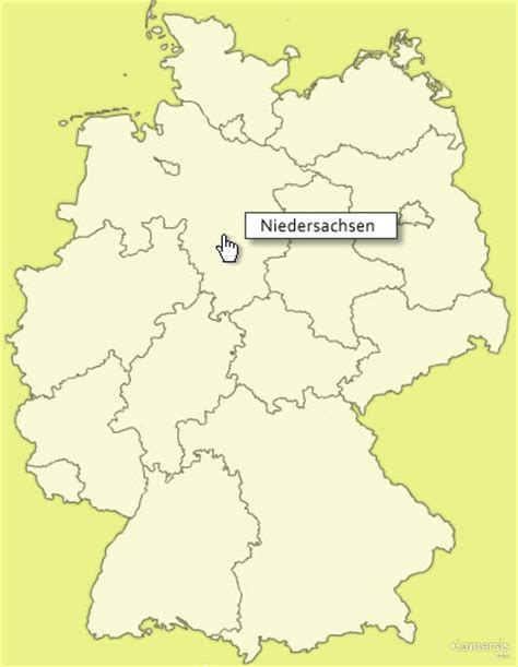 regional map of germany free clickable map of germany regions