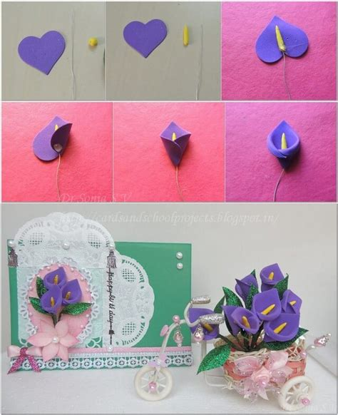 how to crafts for simple foam sheet craft ideas step by step k4 craft