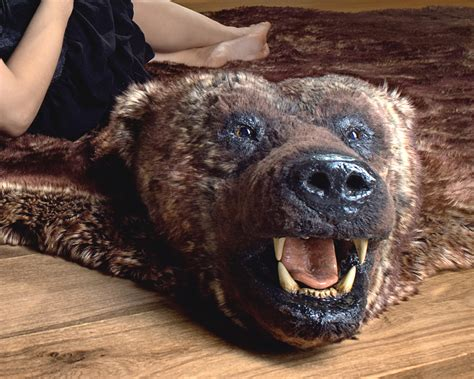 Grizzly Rug With by Grizzly Carpet Meze