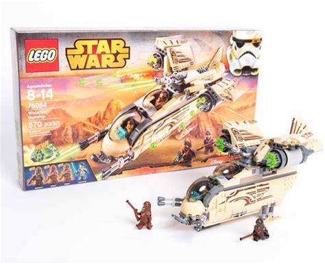Sale Lego 75084 Wars Wookiee Gunship pley rent lego 174 sets