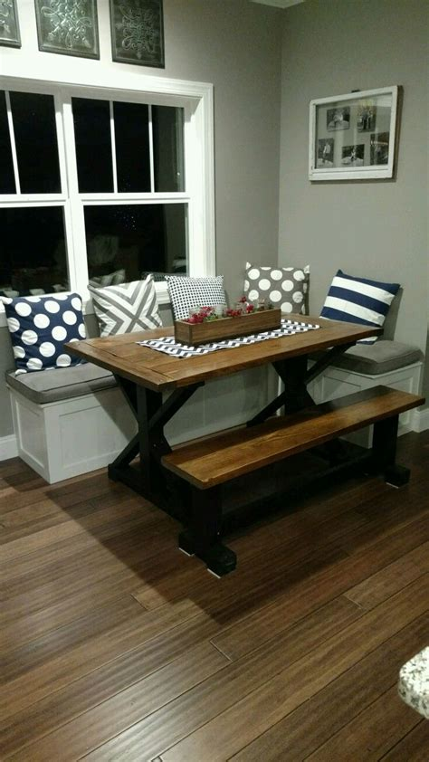 kitchen table with bench seats how to build a bench seat for kitchen table besto blog