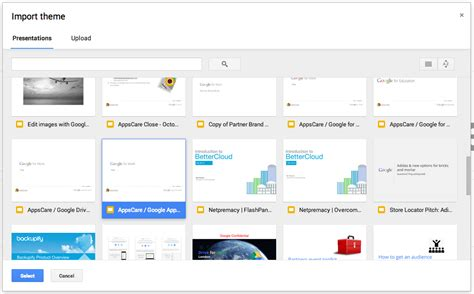 Themes For Google Slides To Import | appscare edit the master of an imported theme in google