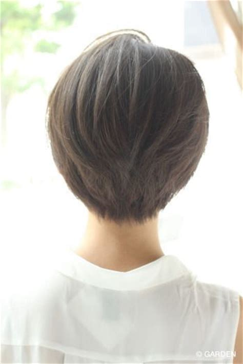 short white hair cuts rear view 17 best ideas about short hair back on pinterest short