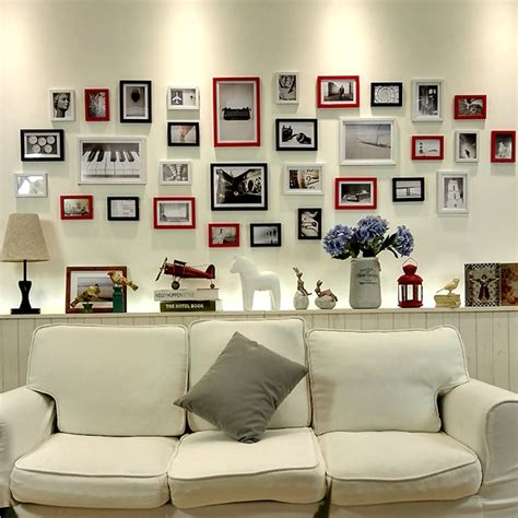 wall frames for living room 31 pcs 17 colors diy modern vintage picture frames large living room wall simple collage photo