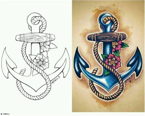 flower tattoo representing family 17 best ideas about anchor flower tattoos on pinterest