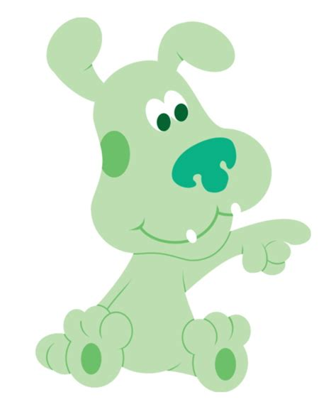 green puppy blues clues characters blue s clues