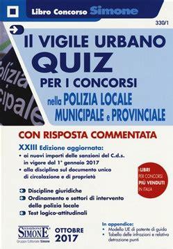 diritto amministrativo enti locali dispense il vigile urbano quiz la matricola