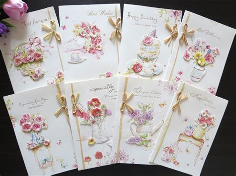 Handmade Beautiful Birthday Cards - stock handmade happy birthday greeting cards blessing