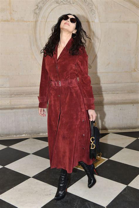 monica bellucci dior monica bellucci at christian dior haute couture spring