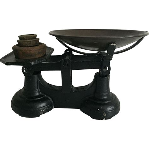 Cast Iron Kitchen Scales And Weights cast iron kitchen scale with weights from