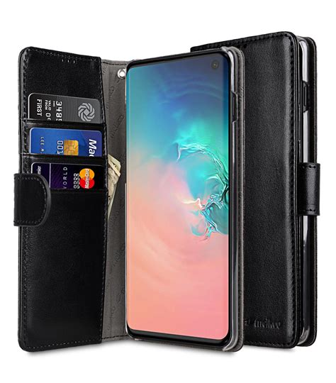 pu leather wallet book clear type case  samsung galaxy