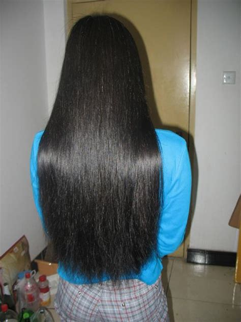 super thick hairstyles cut 60cm super thick long hair longhaircut cn