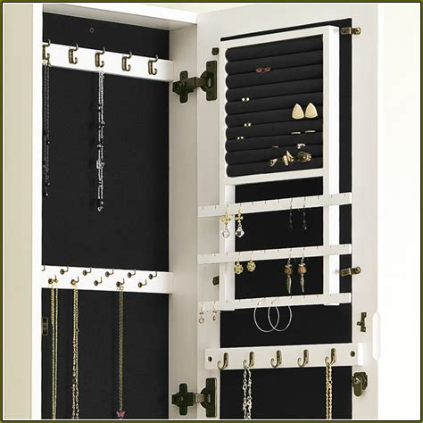 wall mounted jewelry cabinet plans home design ideas