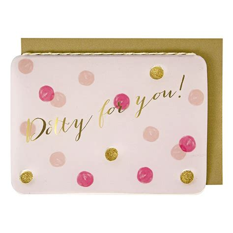 valentines cards cheap dotty for you valentines day card meri meri show the